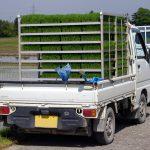 軽トラックの荷台ではみ出し可能なサイズはどれくらい?
